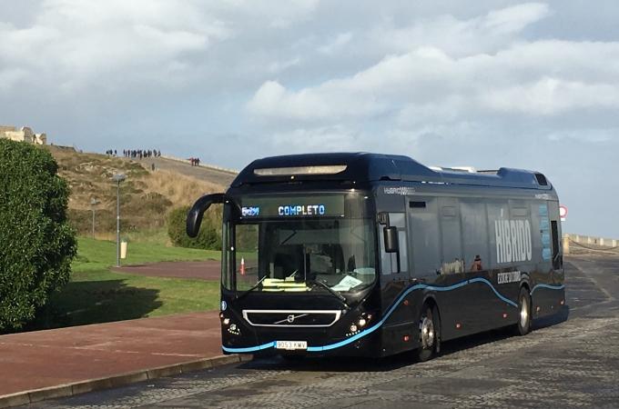 Autobuses híbridos de Volvo Buses van al auge