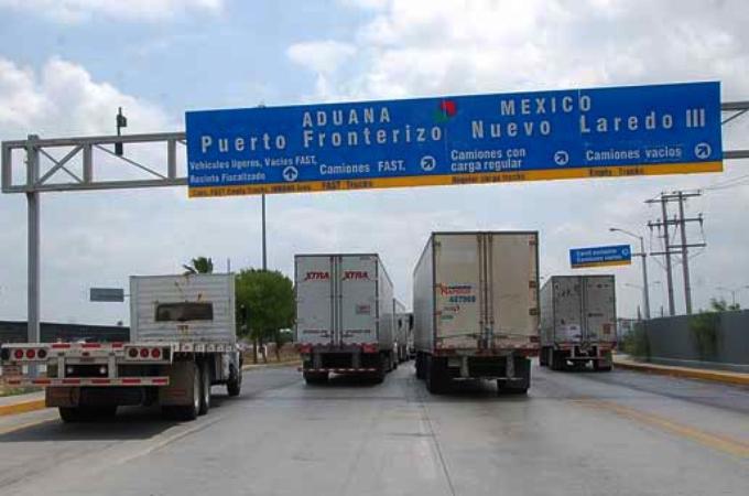 Comercio transfronterizo entre México y EU crece 10% en 2018