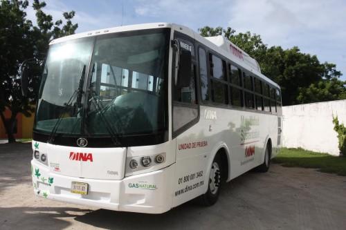 DINA presenta su transporte urbano de bajas emisiones