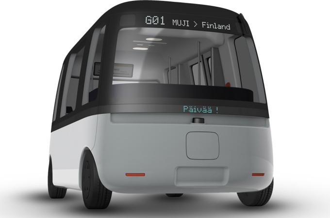 Gacha, el autobús autónomo finlandés