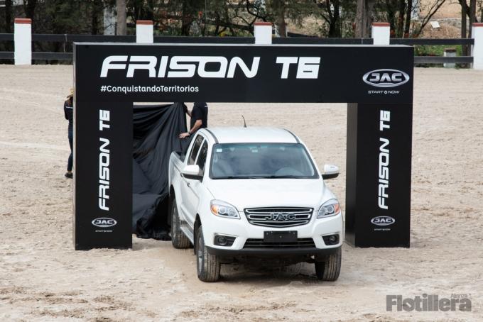 JAC se sube al segemento de las pickup con Frison T6