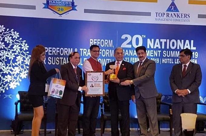 Presidente de JK Tyres recibe reconocimiento por su liderazgo
