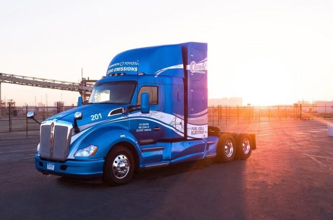 Kenworth presenta camión de hidrógeno en el CES 2019