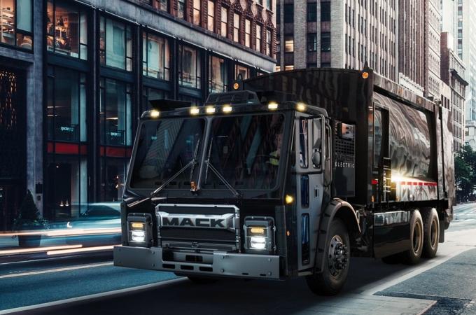 Mack Electric LR, el camión de basura totalmente ecológico