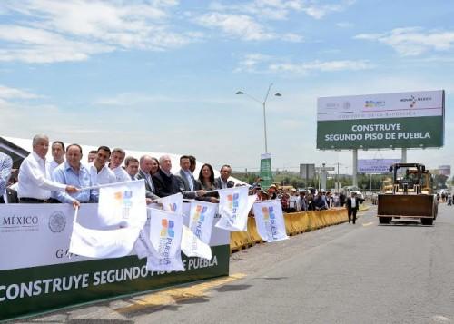 Inicia la construcción del segundo piso en la autopista México-Puebla