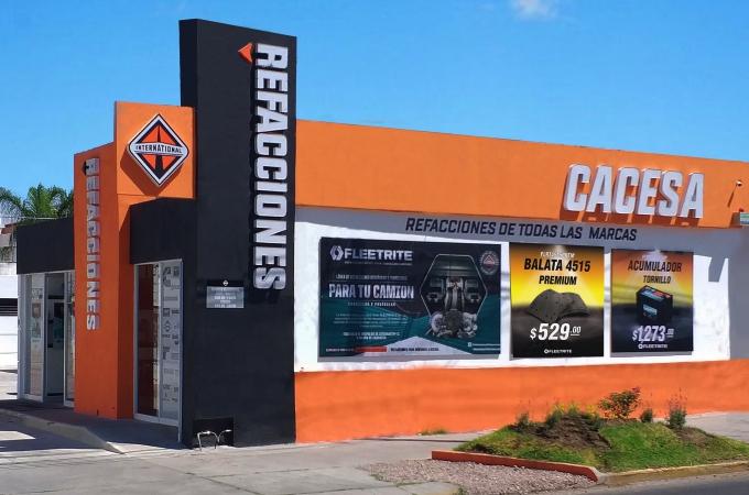 Navistar inaugura sucursal con Cacesa en Aguascalientes