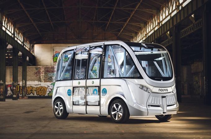 Navya, el autobús autónomo que ya da servicio