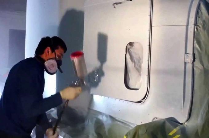 Pinturas de acabado en vehículos industriales
