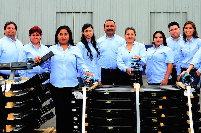 Rassini aumenta producción de componentes de suspensión para camiones pesados