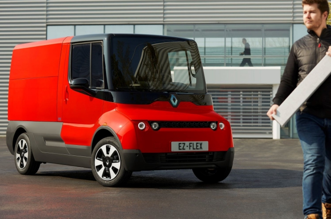 Renault EZ-FLEX, la mini van para la última milla