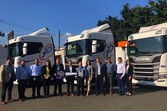 Transportes Potosinos refuerza su flota con Scania