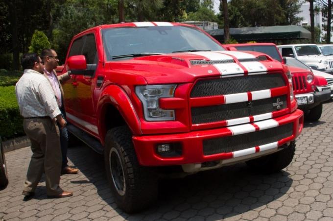 Los vehículos pesados que subastará el gobierno
