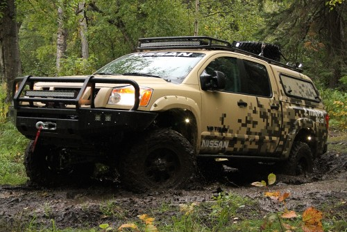 Nissan Titan emprende su aventura por Alaska