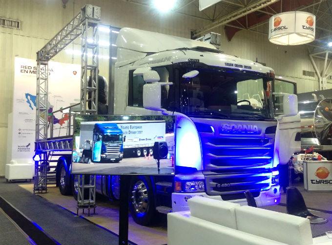 Scania presenta soluciones de transporte en Expo Proveedores 2017
