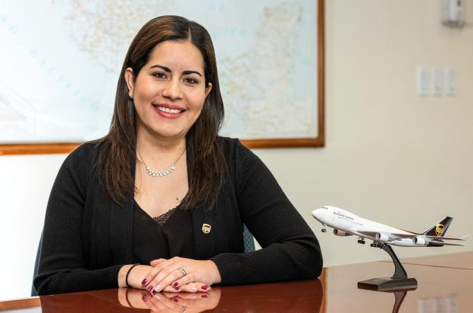 Rosalva Rivera: el reto de entregar a tiempo en UPS