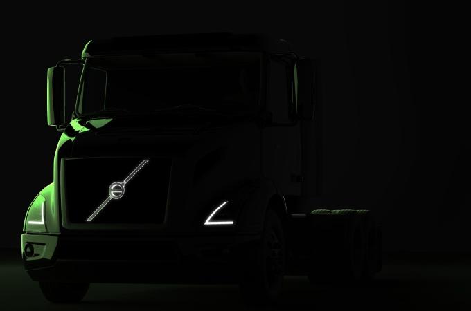 Volvo Trucks presume sus unidades VNR eléctricas